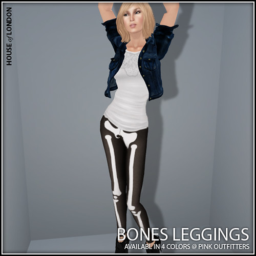 Ad - Bones Leggings