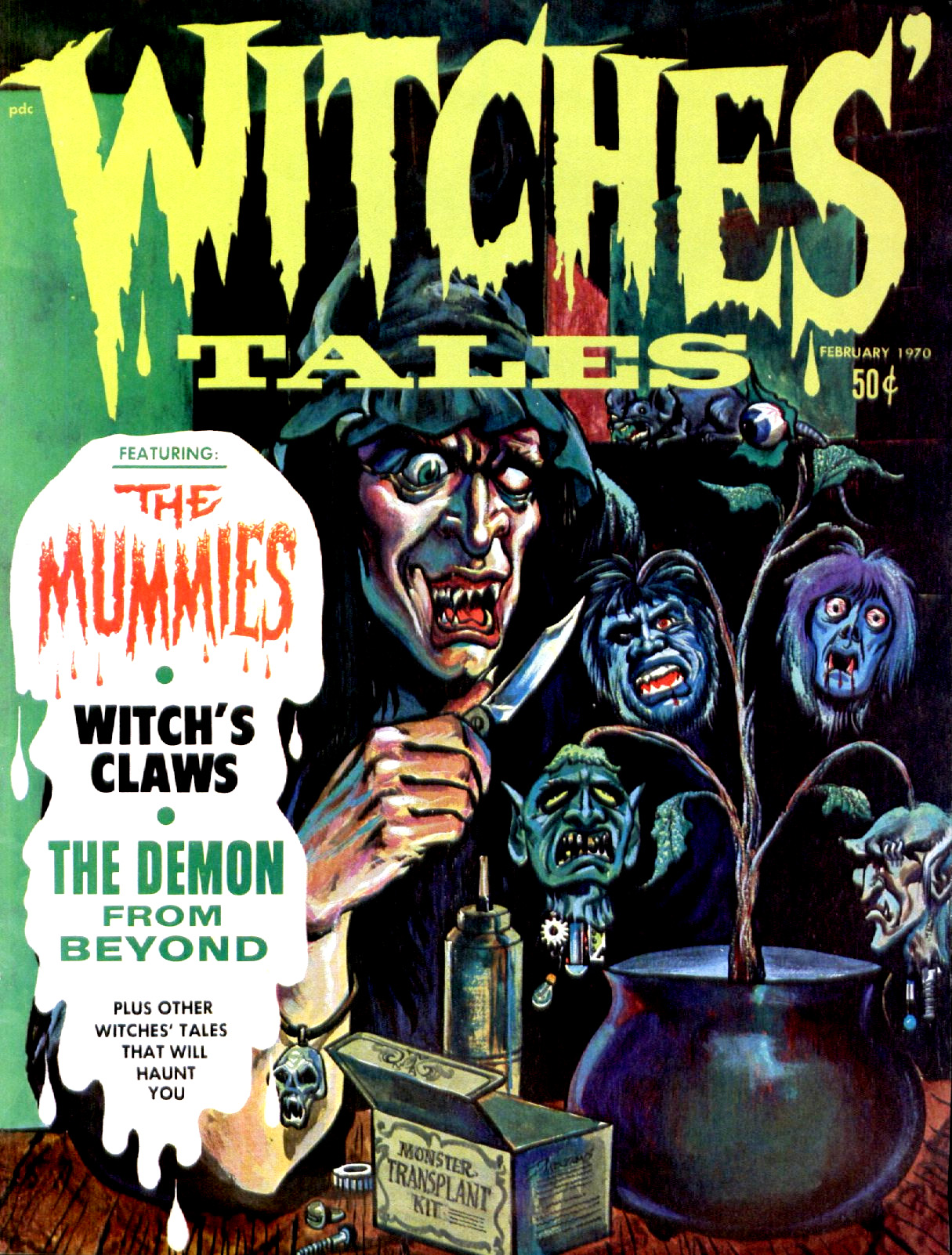 Witches' Tales Vol. 2 #1 (Eerie Publications 1970)