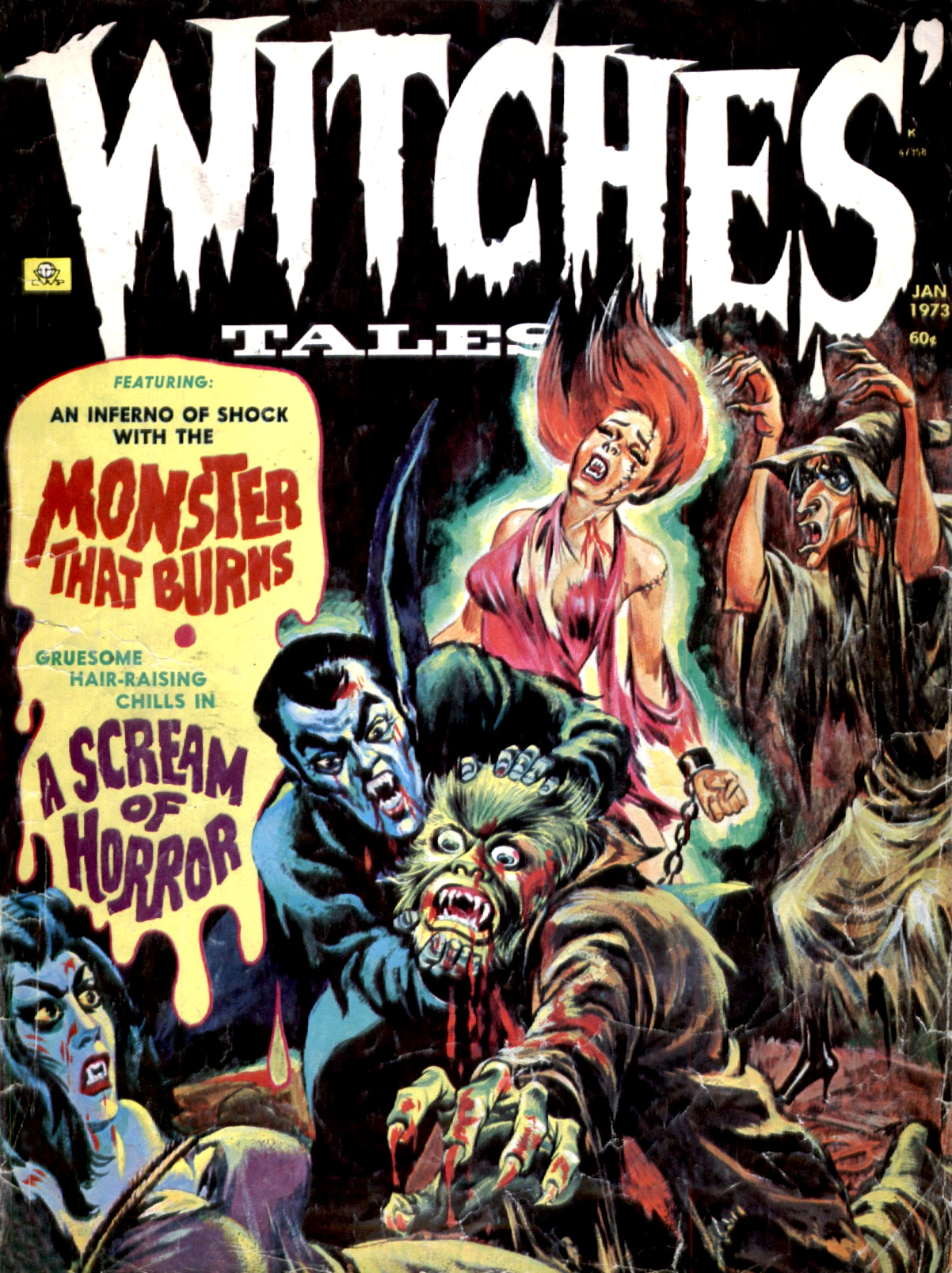 Witches' Tales Vol. 5 #1 (Eerie Publications 1973)