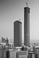 Trust Towers - Abu Dhabi (Titanium007) Tags: seaside acc fineart uae middleeast abudhabi unitedarabemirates landmarktower gcc fineartphotography sirnorman