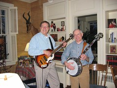 "George & Banjo Picker • <a style=""font-size:0.8em;"" href=""https://www.flickr.com/photos/69122677@N02/6284837351/"" target=""_blank"">View on Flickr</a>"