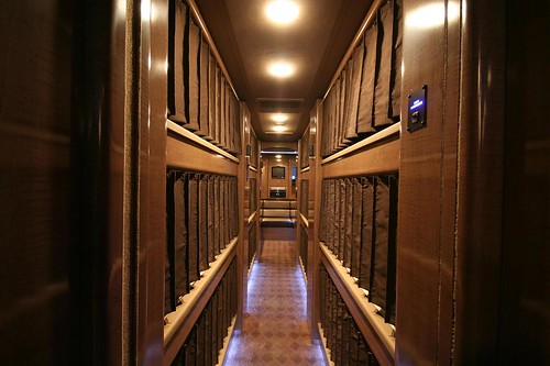 Jupiter - Bunk Hallway - facing rear