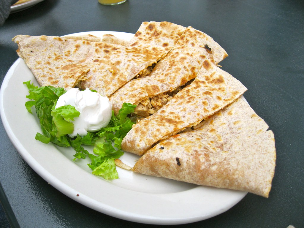 Quesadilla @ Sticky Fingers Bakery Inc