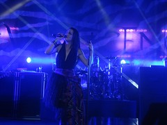Amy Lee of Evanescence 10/25/11