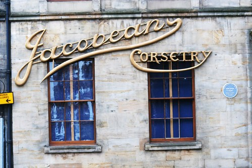 Ornate Gilt Signage, Merchant City