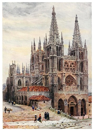 001-Catedral de Burgos-Cathedral cities of Spain 1909- William Wiehe Collins
