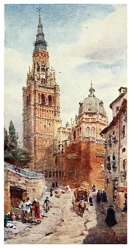 010-Catedral de Toledo-Cathedral cities of Spain 1909- William Wiehe Collins