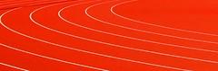 Speed (hapsnaps) Tags: red england urban lines speed buzz athletics track geometry running hampshire parallels minimalism southampton urbangeometry 2011 runningtrack teamsolent southamptonuk southamptonsportscentre hapsnaps southamptonac