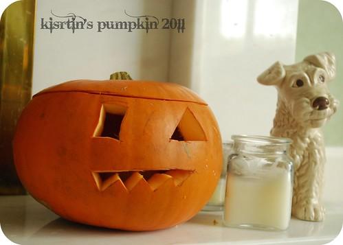 k's pumpkin 2011