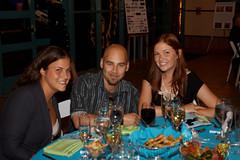 Lily and Jesse Hershkovitz with Lindsay Hunter Lopez