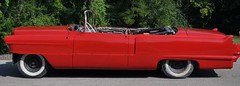 "1956 Series 62 Red Convertible Cadillac restoration • <a style=""font-size:0.8em;"" href=""http://www.flickr.com/photos/85572005@N00/6302990479/"" target=""_blank"">View on Flickr</a>"