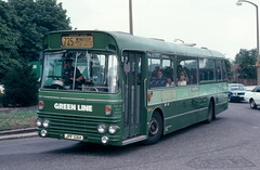 SMA 6 Route 725 Sept 1978 (national_bus_510) Tags: nbc surrey alexander greenline aec nationalbuscompany londoncountry aecswift smaclass lcbs