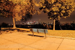 View From The Park ! (pmarella) Tags: park city nyc newyorkcity longexposure trees sky urban usa newyork color nature skyline night bench landscape lights newjersey jerseycity solitude cityscape shadows manhattan nj silhouettes whatever viewlarge pmarella metropolis empirestatebuilding empirestate lamplight hoboken donttrythisathome hudsoncounty whileyouweresleeping amomentintime dancinginthedark anotherdayinparadise throughmyglasseye sigma1770mm riverviewpkproductions wanderingatnight myeyeshaveseenthis eos7d