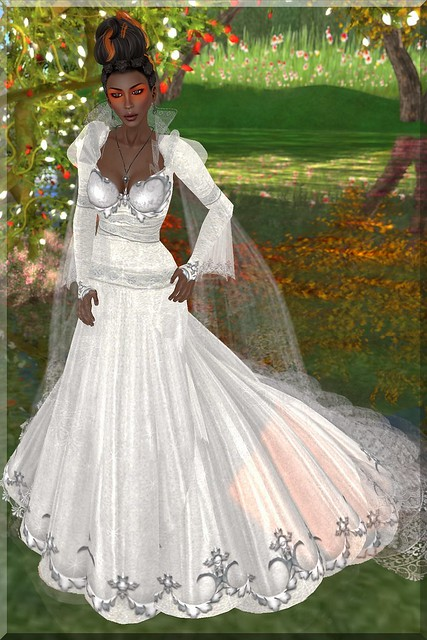 Glam TWA Bride