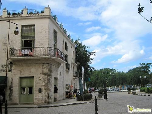 Old Building in Havana Vieja Cuba