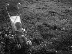 (leftoverking) Tags: ca baby doll stroller olympuspen eureka industar69 leftoverking
