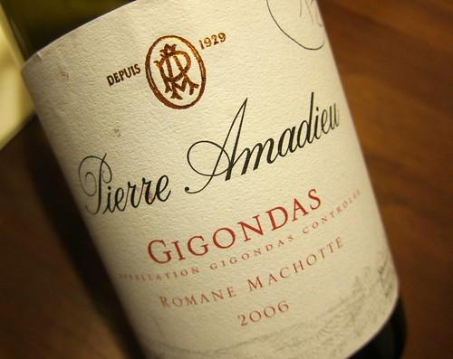 2006 Gigondas Romane Machotte Pierre Amadieu