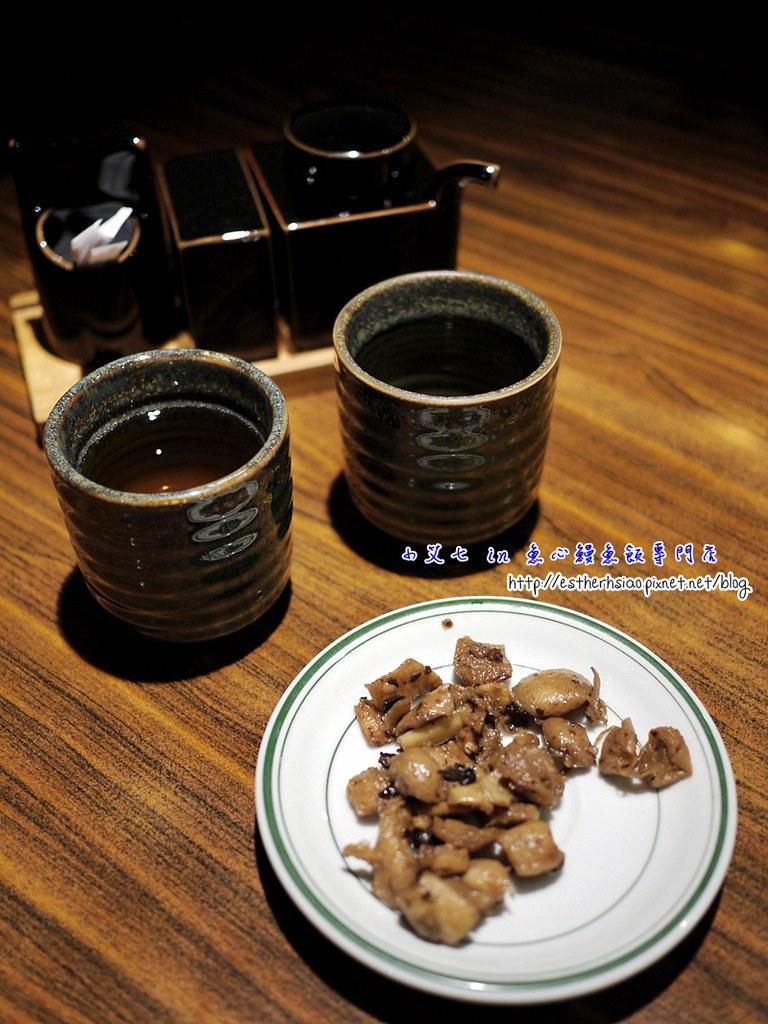 12 熱茶、醬料、蘿蔔