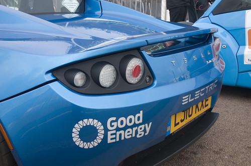 Tesla Roadster Sports: RAC Future Car Challenge