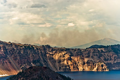 Crater Lake Trip - 34 (www.bazpics.com) Tags: trip travel blue summer vacation usa lake holiday water oregon america island fire volcano climb tour wizard smoke centre peak hike chipmunk crater visitor garfield wildfire barryoneilphotography