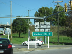 Virginia State Route 40 (Dougtone) Tags: road sign virginia highway route shield rockymount 101611