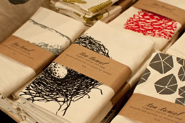 Bookhou tea towels