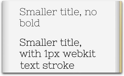 webkit text stroke