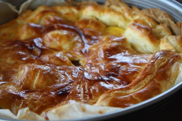 Tourte Paysanne - Après 30 minutes de cuisson