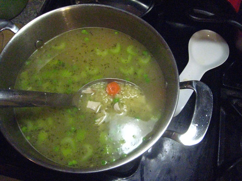 Finished Soup. YUM!