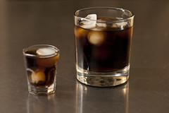(staceymccool) Tags: ice cup glass cola pop cube soda
