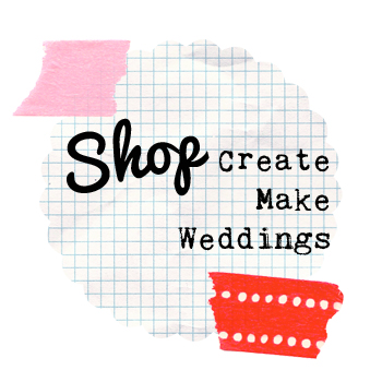 createmakeweddings weddings create make badges favors