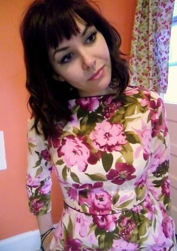 floral peony - no belt