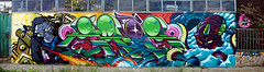 Zade Oner (COLOR IMPOSIBLE CREW) Tags: chile graffiti crew concurso gorila pulpo zade oner quilpue 2011 fros ironlak