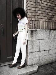 (happy sun lab) Tags: autumn brick heritage girl stone vintage dark asian photography hongkong shoes top icecream etsy maryknoll