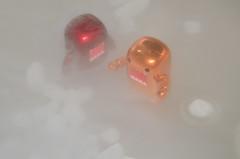 Dry Ice Troubles (WindUpDucks) Tags: toys domo domokun urbanvinyl qee nhk dryice darkhorse designertoys toy2r series3 collectibleart