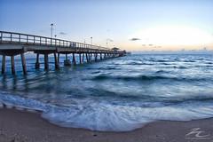 Fort Lauderdale beach sunrise 11-17-11 (zielinskiCreative) Tags: ocean beach sunrise pier sand florida fort atlantic commercial lauderdale 111711