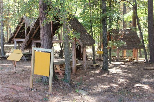 The Choctaws use this area to hold cultural education events to teach children about their traditions and history.