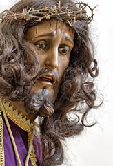 Cristo Nazareno en Caaveras (Cuenca).tif (Carlos Gonzlez Lpez (carlosfoto.es)) Tags: retrato iglesia caaveras figuracion