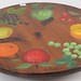 229. Modern Painted Lazy Susan