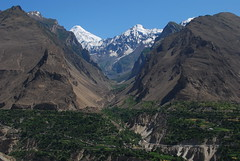 Hunza Valley (KOKONIS) Tags: travel pakistan mountain green landscape nikon asia valley karakoram hunza diran   d80 mrgniqq  gilgitbaltistan