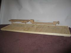 Locomotive Cake (Base Structure) (RDPJCakes) Tags: 3d fondant traincake sculptedcake ossas rdpjcakes locomotivecake