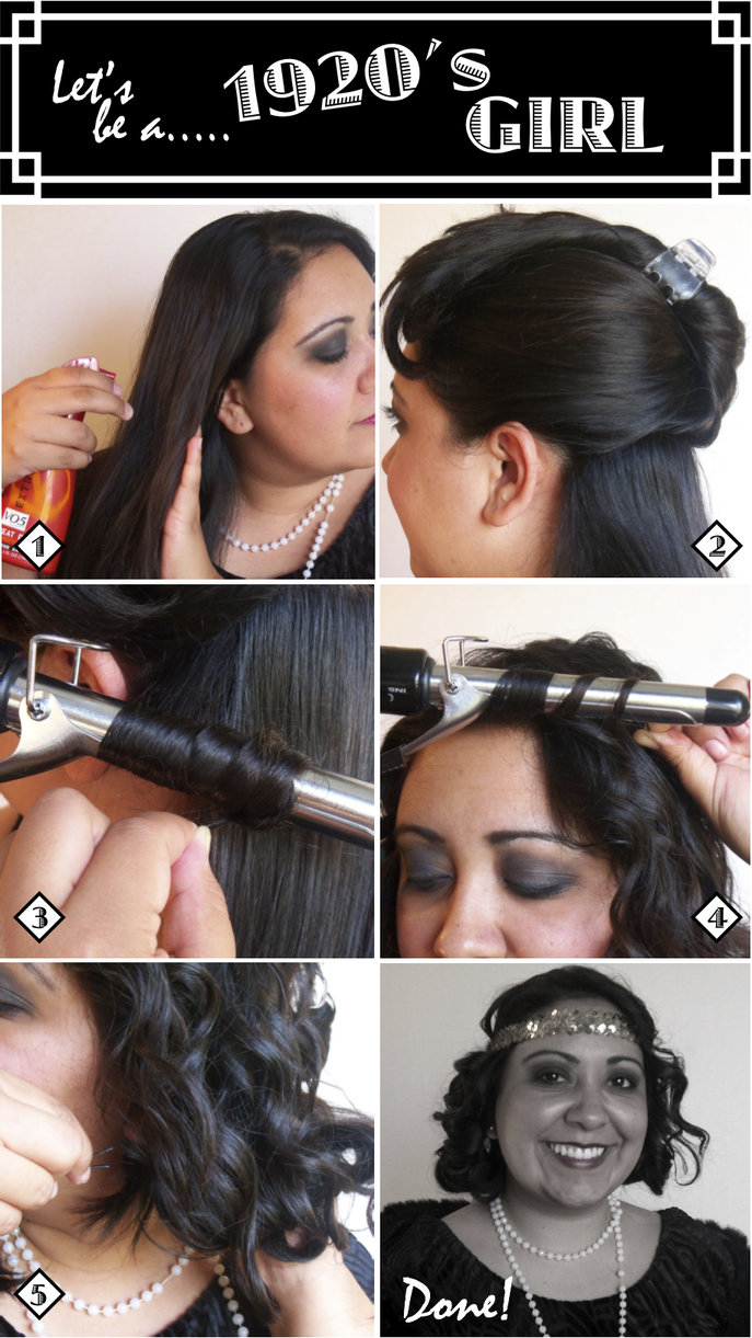The Style Dossier How To Do Flapper 192039s Hair