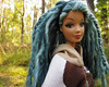 133 (Alrunia) Tags: nature dreadlocks forest outdoors doll handmade ooak barbie yarn mohair mackie hybrid dreads headswap fashiondoll mattel fashionistas reroot rebody restyle fashionfever 16thscale playscale bodyswap headmold makeupchic yarnreroot barbiedreadlocks barbiedreads