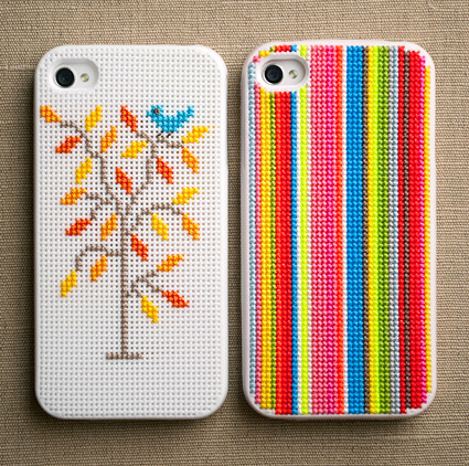 Sweet Stitching with Erin: Cross-Stitch iPhone Cases!
