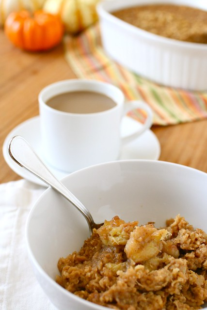 Baked Pumpkin Oatmeal - Everyday Annie