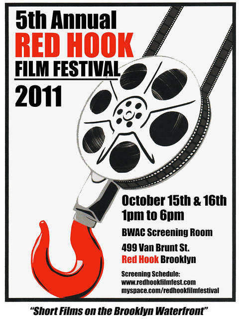 red hook film fest 2011 poster