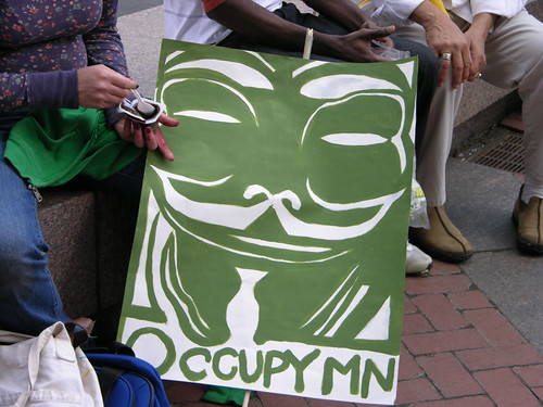 green OccupyMN