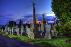 Graveyard shift 6 (D-W-J-S) Tags: cemeteries cemetery grave graveyard night dead bury buried tomb graves churchyard tombs buial