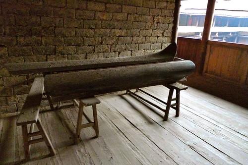.....棺材放在土樓裡,好像也變得理所當然.....