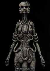 Hecate Sculpture (Shain Erin) Tags: sculpture greek roman mixedmedia ooak magic fineart goddess witchcraft mythology hecate sorcery hekate shainerin